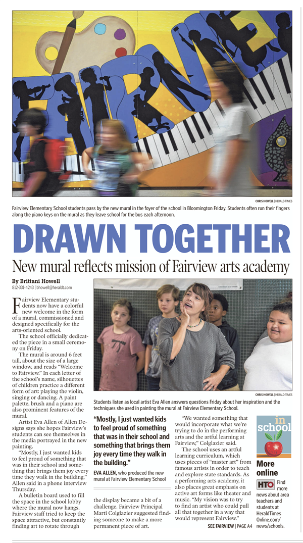 Fairview in the News