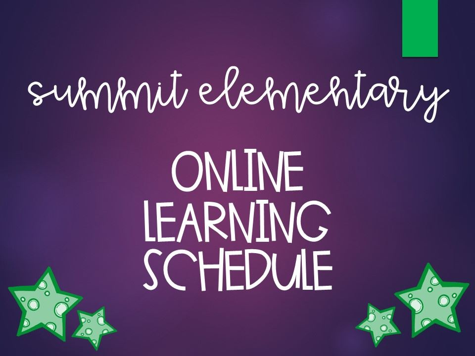 Summit ONLINE Schedule