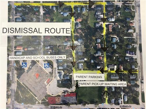 2018-2019 Dismissal Route