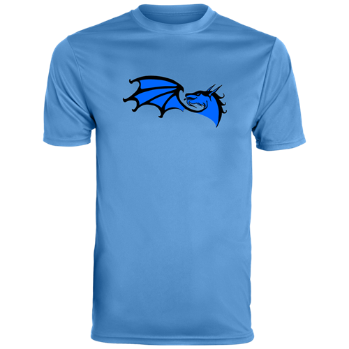 A light blue shirt with the BGS Dragons logo on it.