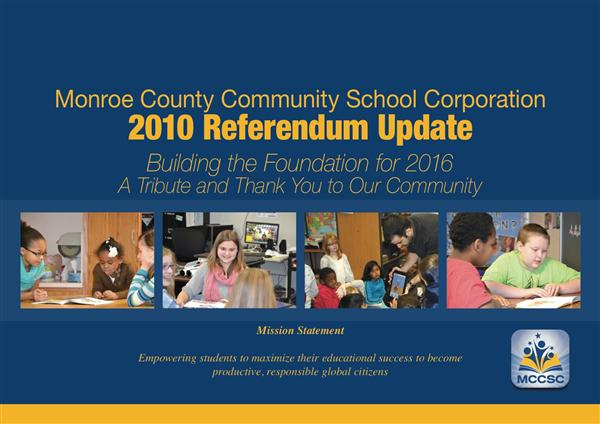 2010 Referendum Update Publication