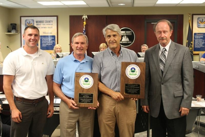EPA Recognizes MCCSC's IPM Program