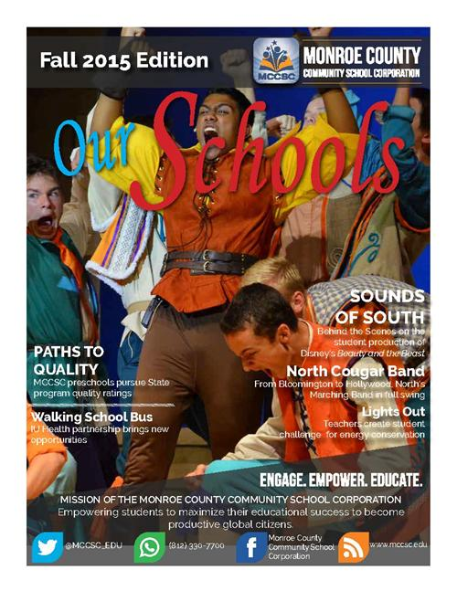 Fall 2015 Edition of Our Schools