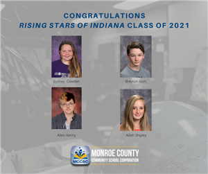 Rising Stars Recognized at Bloomington Graduation School