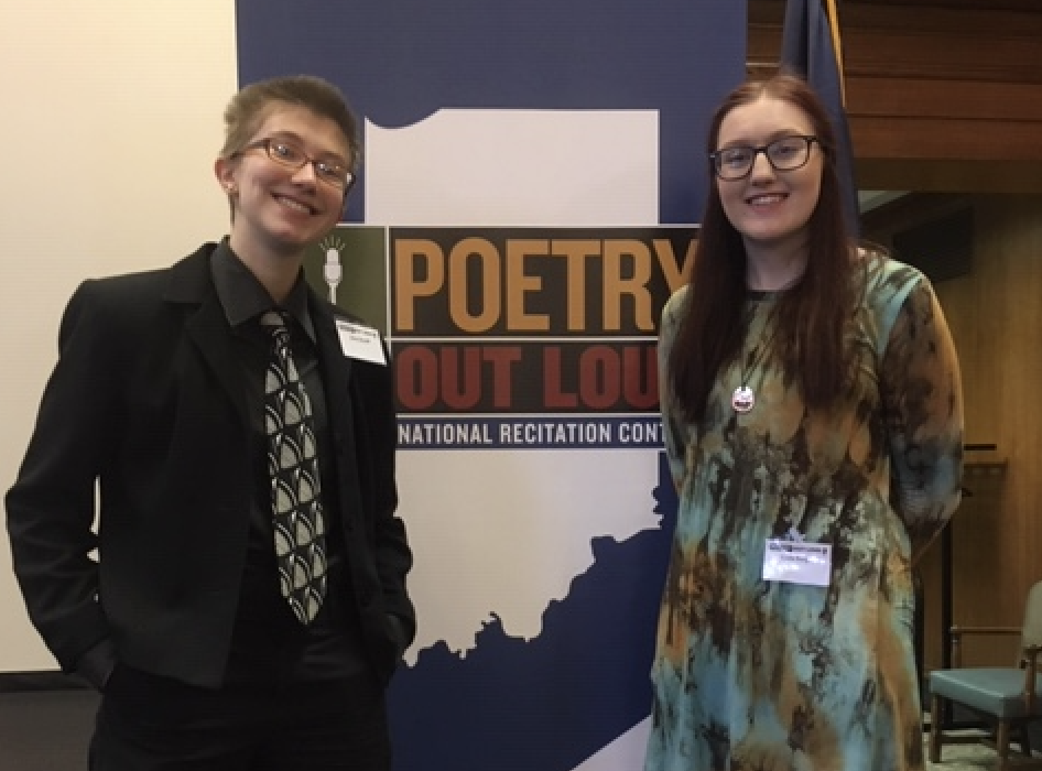 South Students place at Indiana State Poetry Out Loud Competition