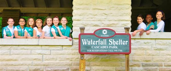 University Elementary Girl Scout Troop Honored