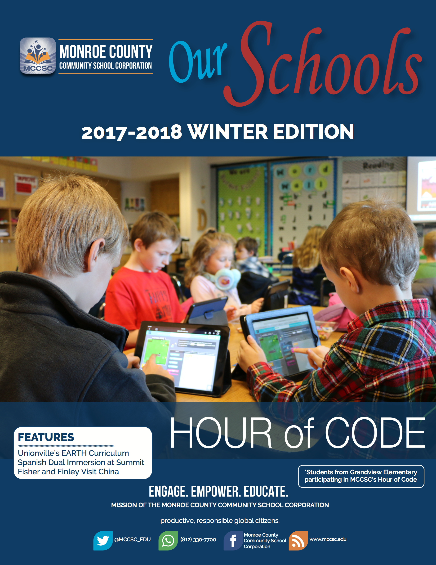 2017-2018 Our Schools Winter Edition